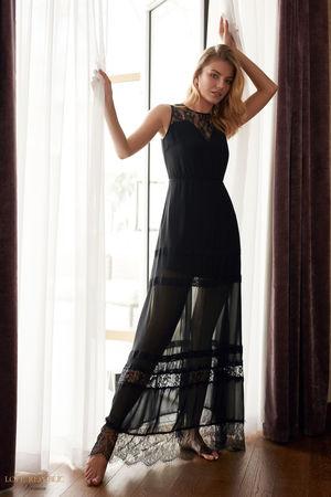 Быстрое платье в пол